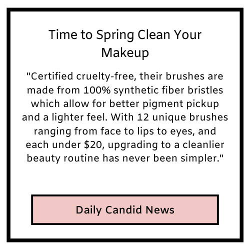 Time to Spring Clean Your Makeup Brushes.