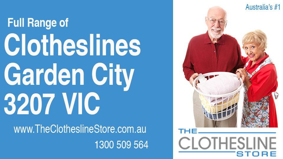 New Clotheslines in Garden City Victoria 3207