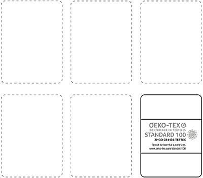 ZHGO 034436 Oeko-Tex License