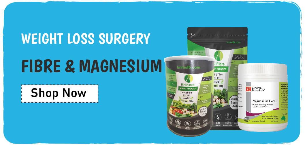 Fibre and magnesium