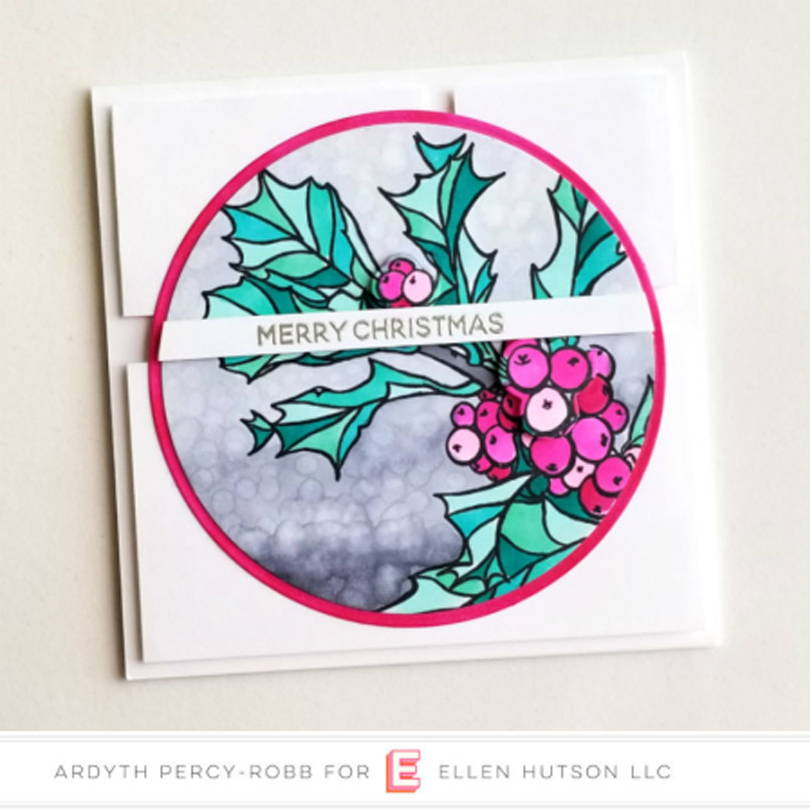 Ellen Hutson September Essentials Challenge card by Ardyth Percy-Robb