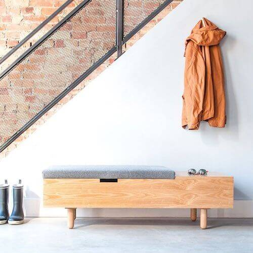 Gus* Mimico Storage Bench