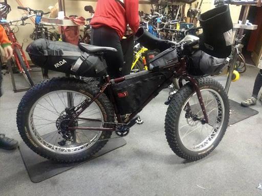 Bikepacking Fat Bike