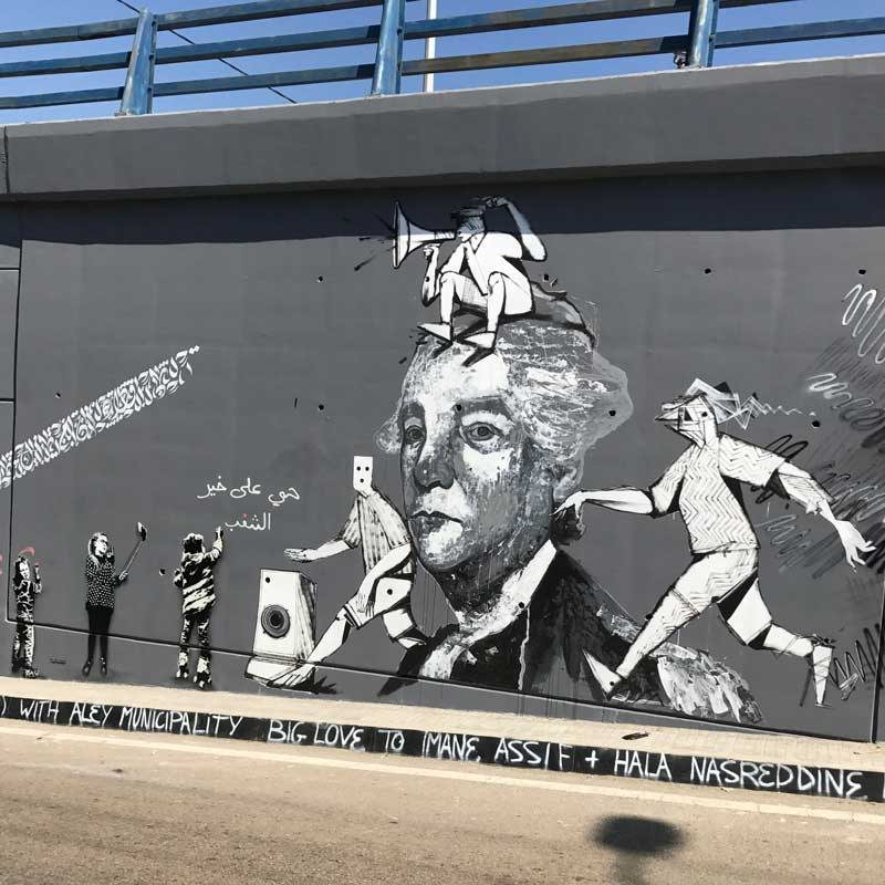 Dan Cimmermann outdoor mural