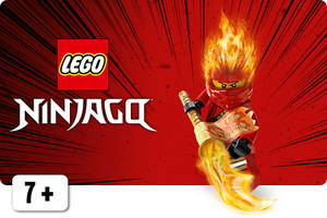 LEGO Ninjago tulimiekka ja tulihahmo