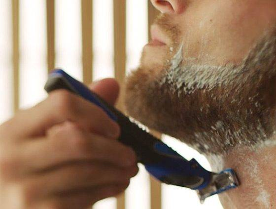 Shave With and Against the Grain