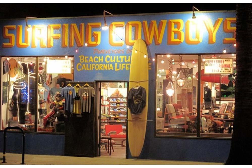 Surfing Cowboys Store Abbot Kinney Blvd Venice CA