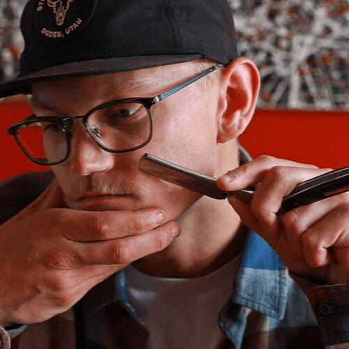 How to Shave Mustache Using Straight Razor