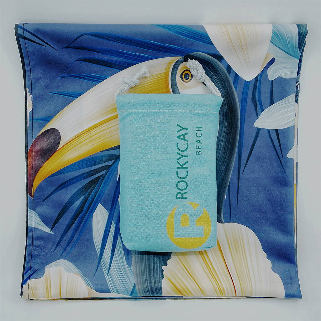 RockyCay new beach towel collection