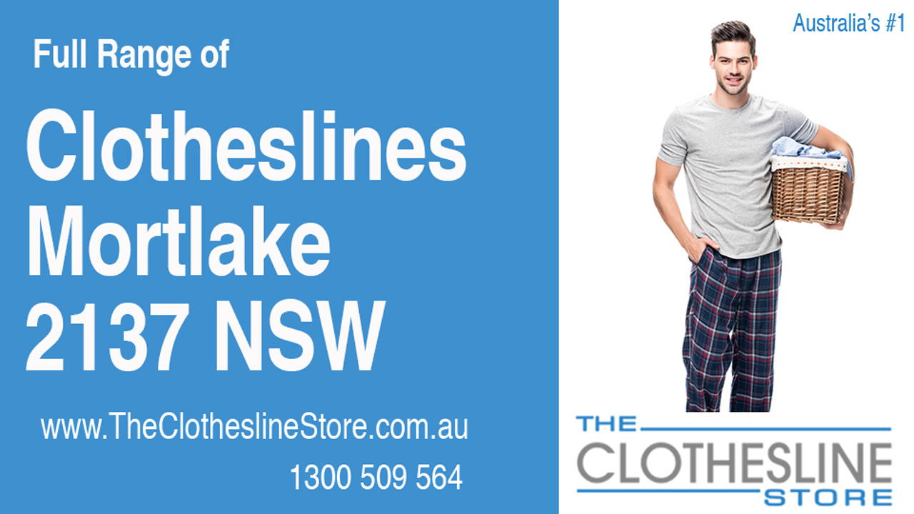 Clotheslines Mortlake 2137 NSW