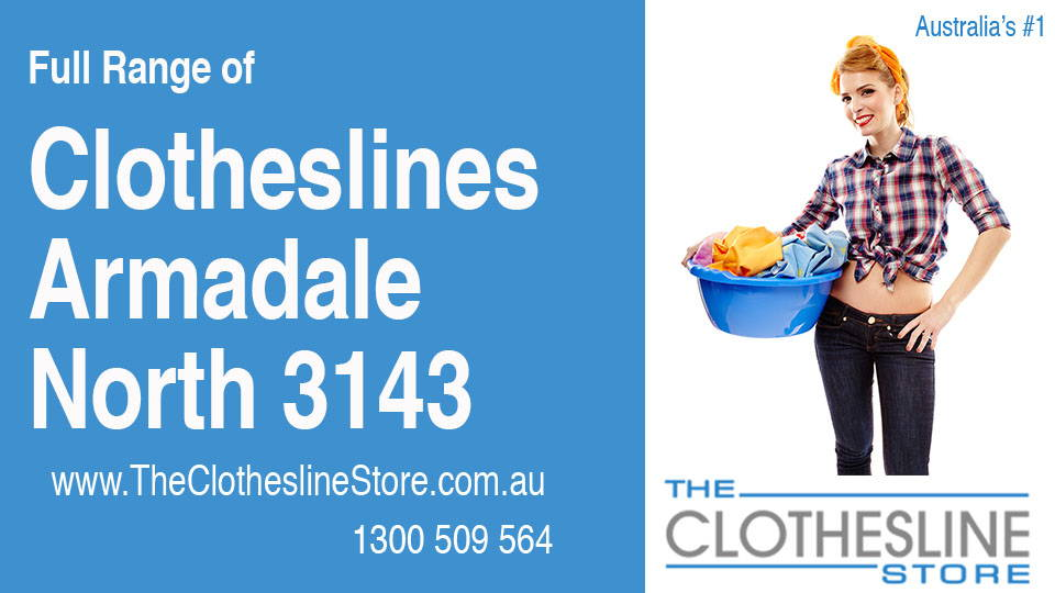 New Clotheslines in Armadale North Victoria 3143