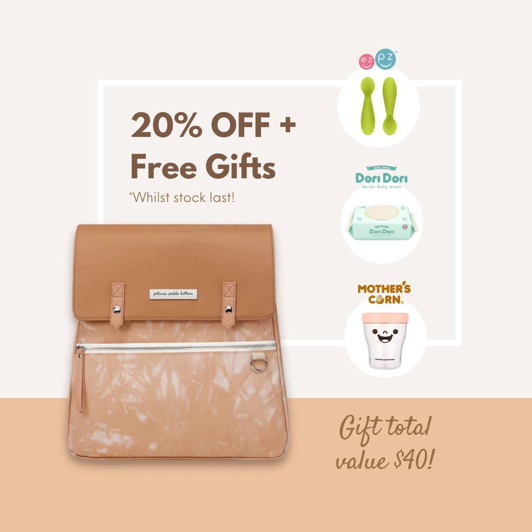Petunia Pickle Bottom 20% OFF Exclusive Diaper Bags