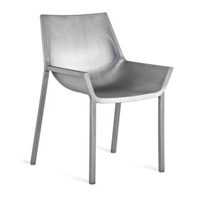 Modern Silver Outdoor Dining Chairs