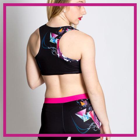 gac dye sub practicewear glitterstarz pink custom sets for cheer and dance