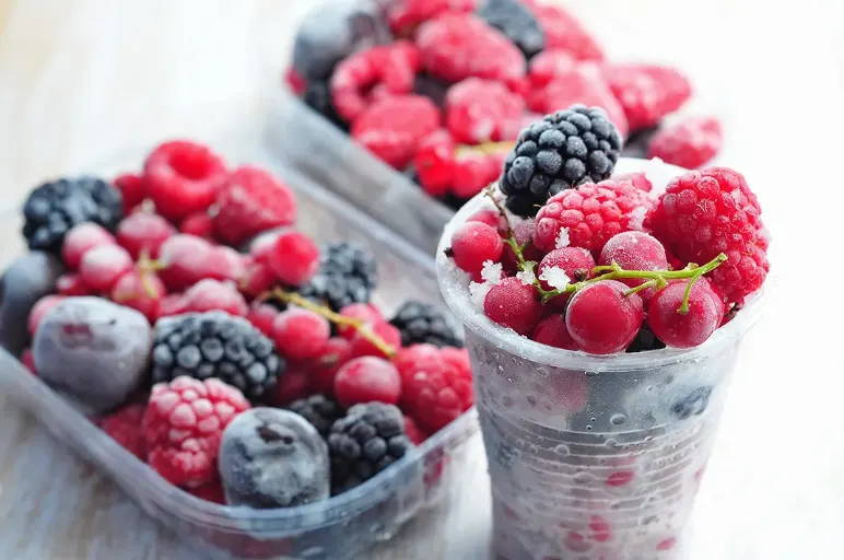 Fruits congelés