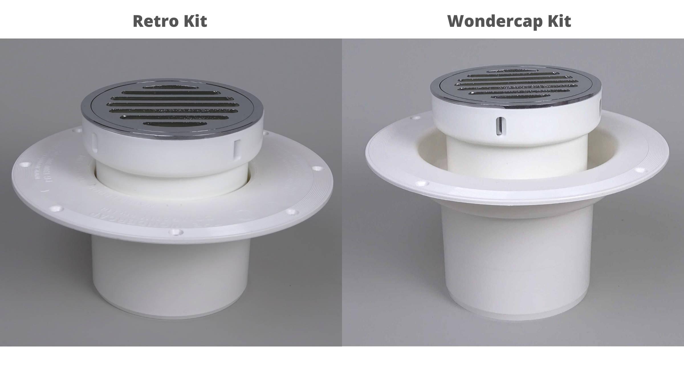 Round Stainless Steel Shower Drain Grate