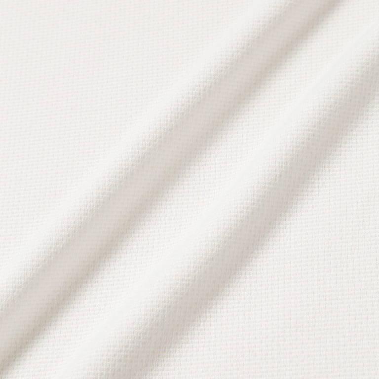 andwander(アンドワンダー)/パワードライ ジャージーラグランロングスリーブT/ホワイト/UNISEX