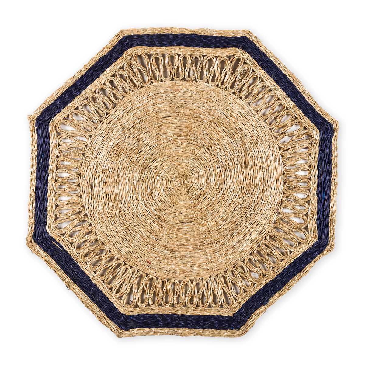 Octagonal Woven Placemats
