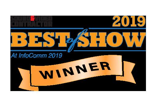 Nemal Electronics Stadium 4 Planum System Infocomm 2019 Best of Show Winner
