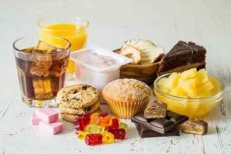 Aliments interdits dans un régime sans sucre