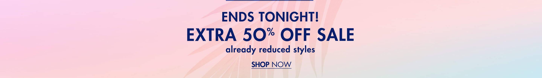 Extra 50% Off