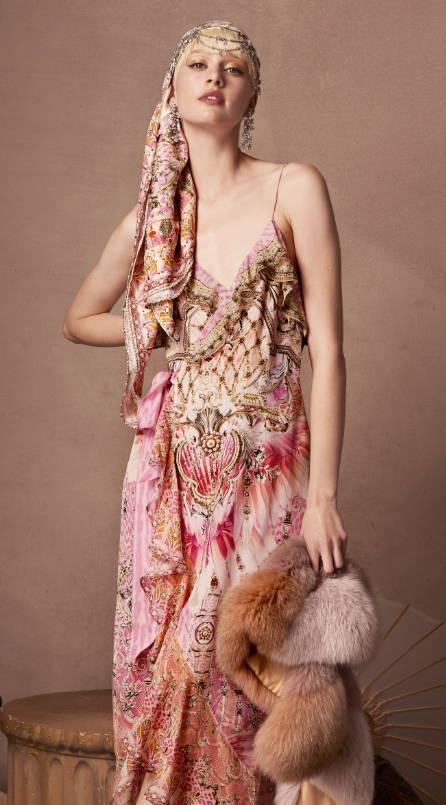 camilla pink dress