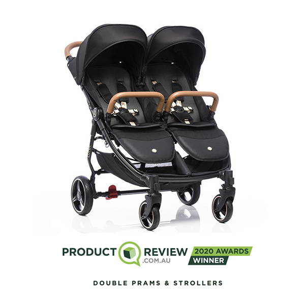 babybee luna double pram 2020 reviews