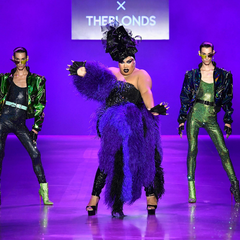 The Blondes x Disney Villains take NYFW