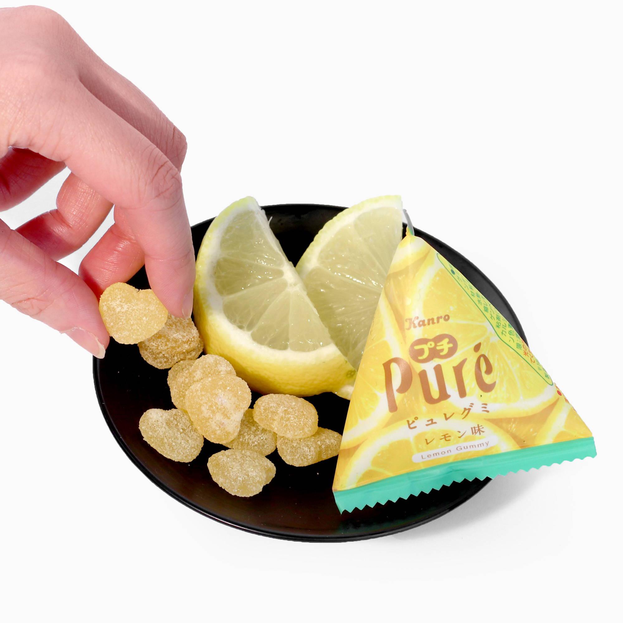 Puré Gummy Petite: Lemon Flavor