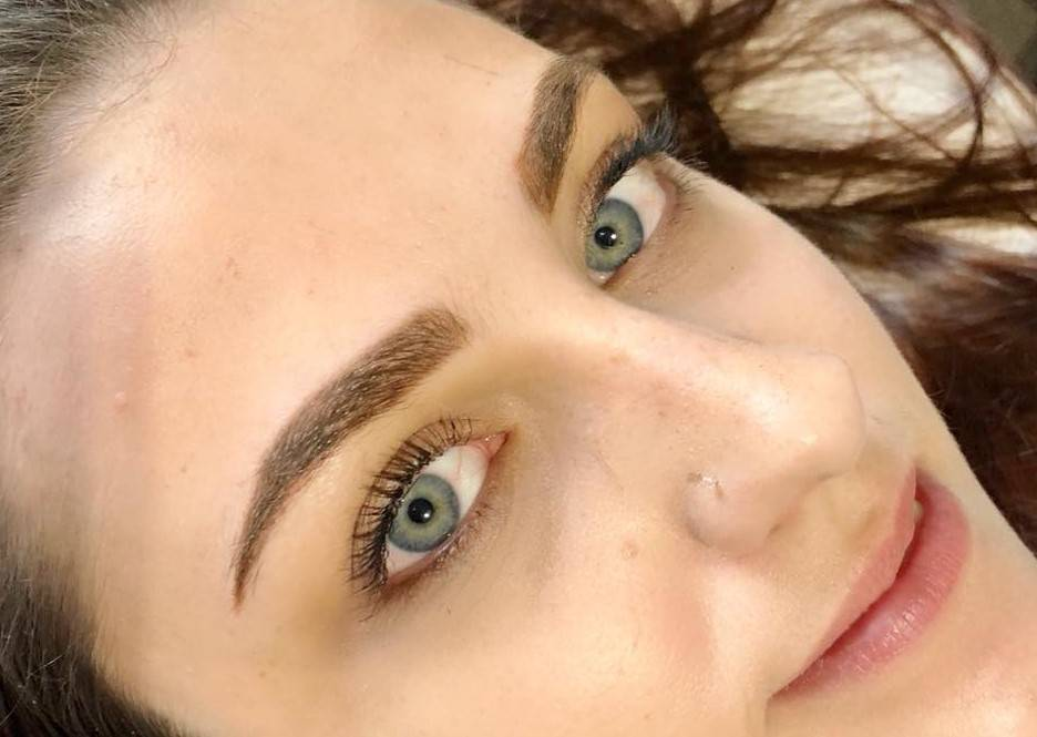 Powder Eyebrow Tattoo