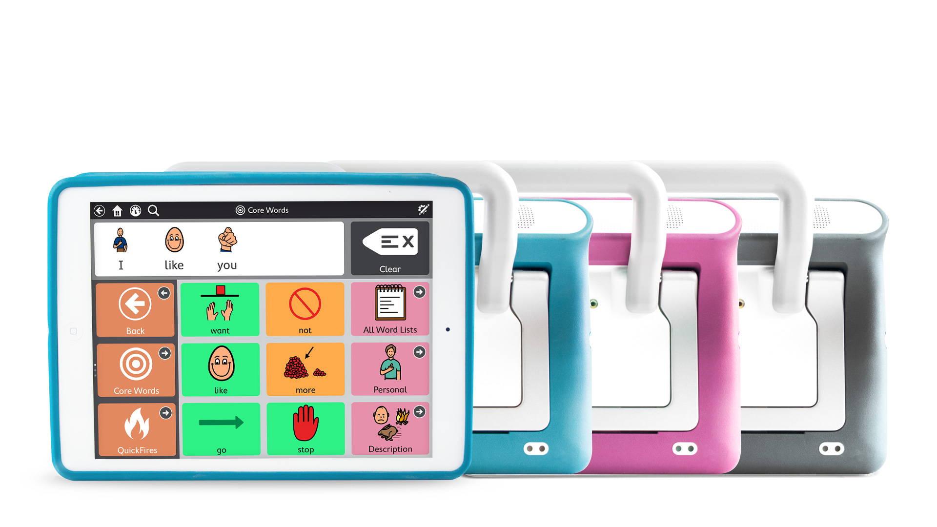 iPad mit Speech Case