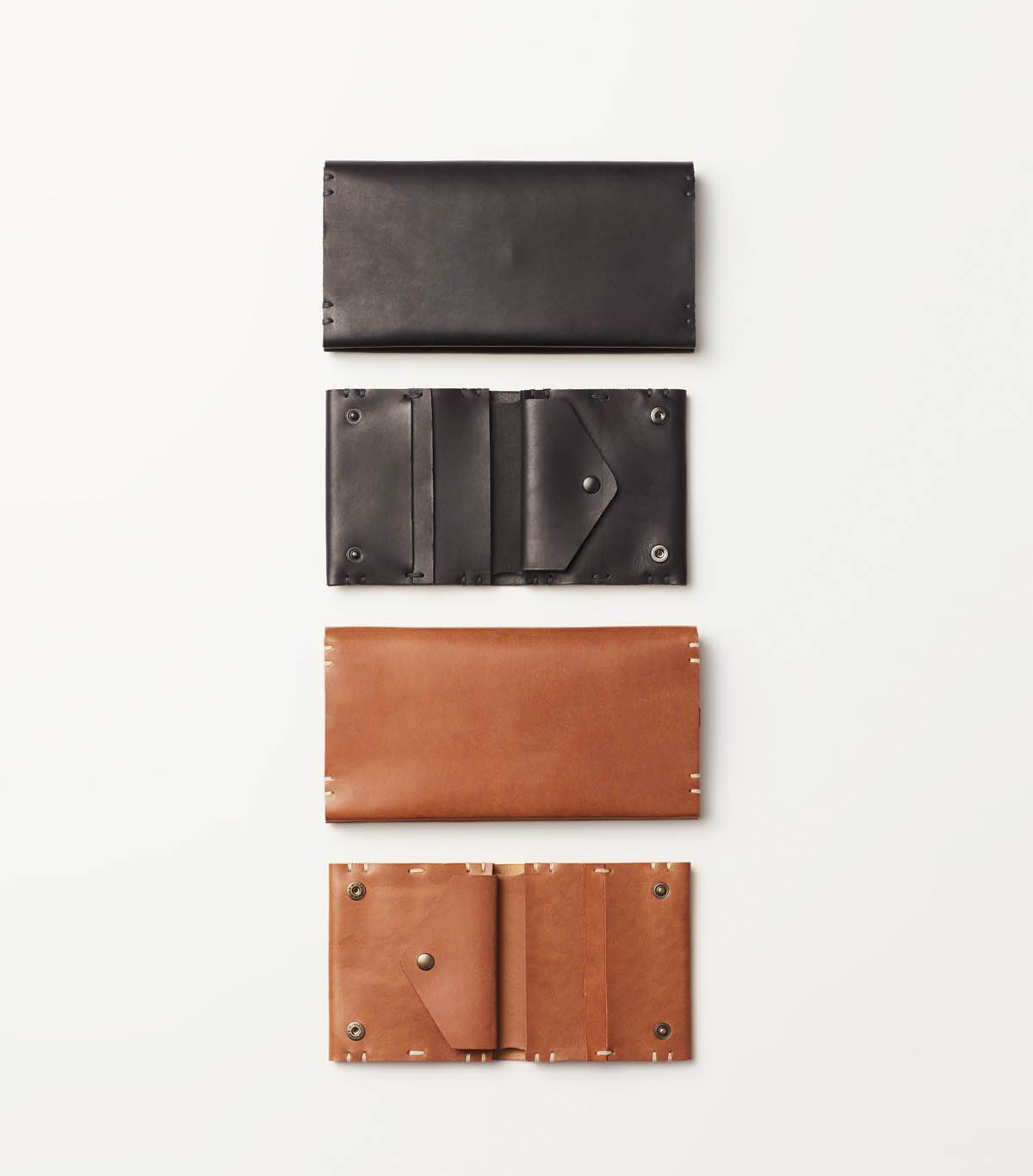 Wallets in Tan and black