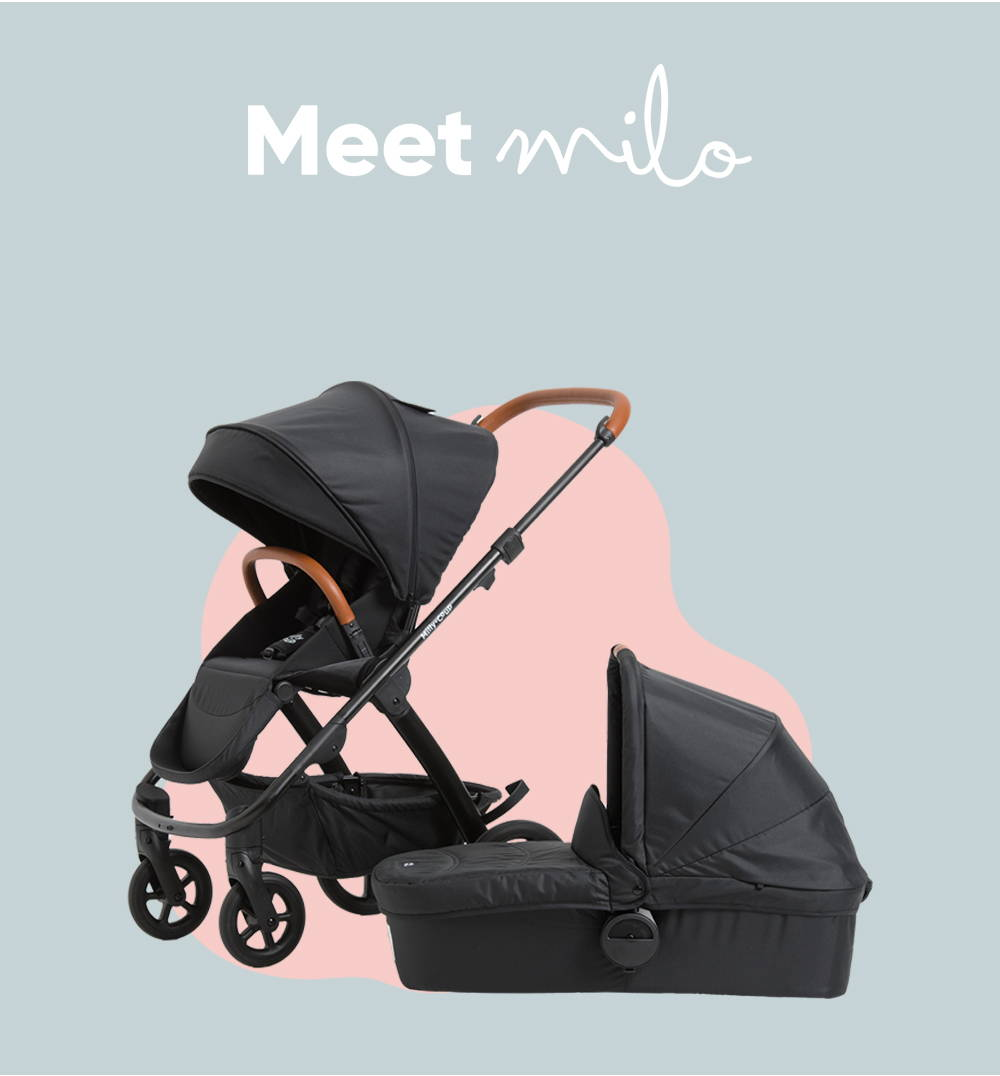 Meet Milo! The stroller designed to make your life easy