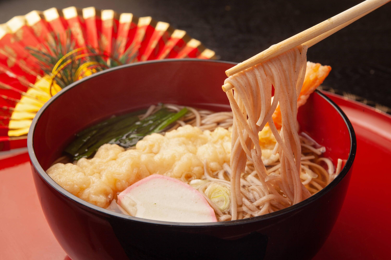 Toshikoshi soba Japanese new year foos