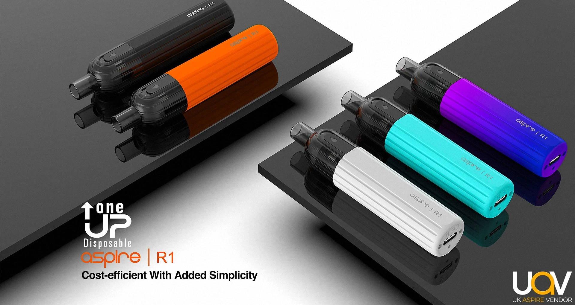 Aspire OneUp R1 | Disposable Vape Device | Buy E-Cigarette Devices