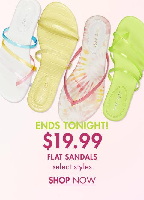 $19.99 Flat Sandals
