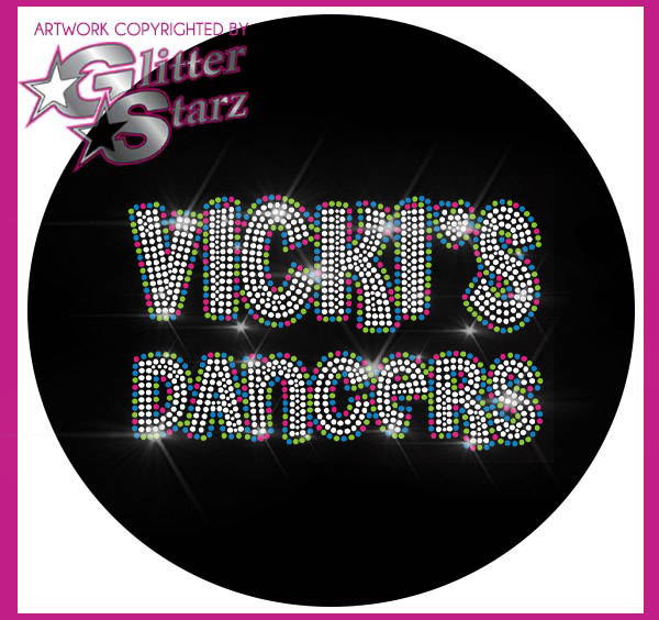 Glitterstarz webstore fundraiser Vicki's Dancers