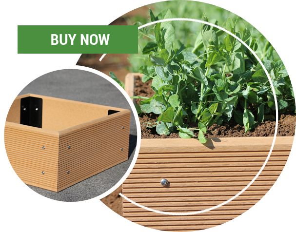 Ecogardener Raised Bed Garden Planter
