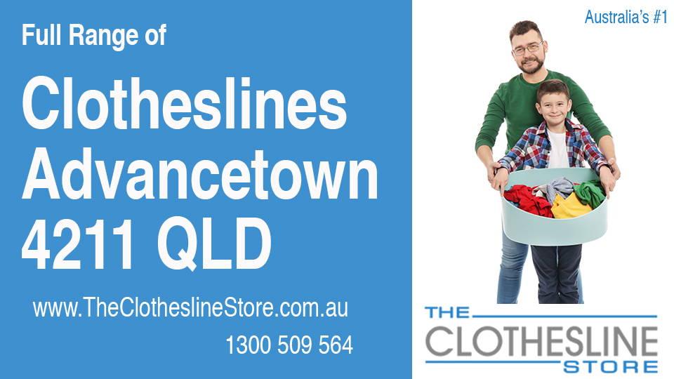 New Clotheslines in Advancetown Queensland 4211