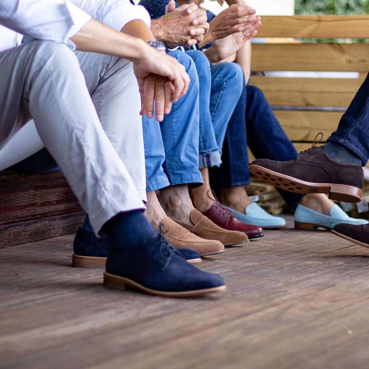 Jolies chaussures haut-de-gamme semelles orthopédiques