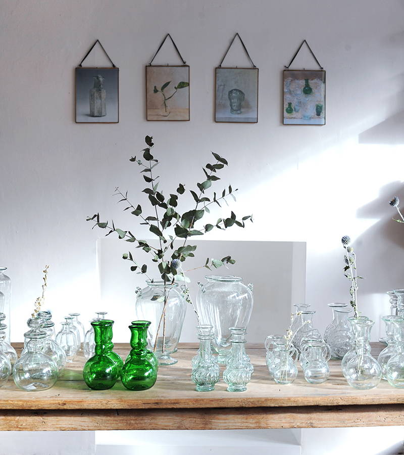La Soufflerie glass vase display