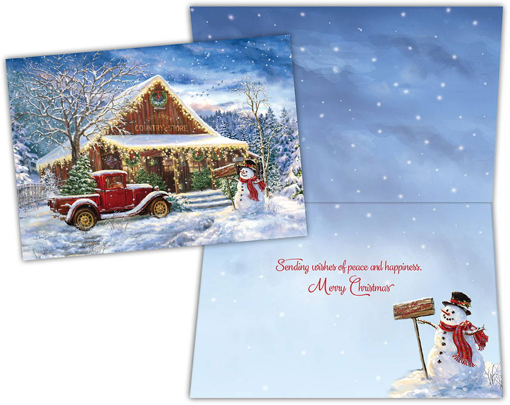 Boxed Christmas Cards Country Store