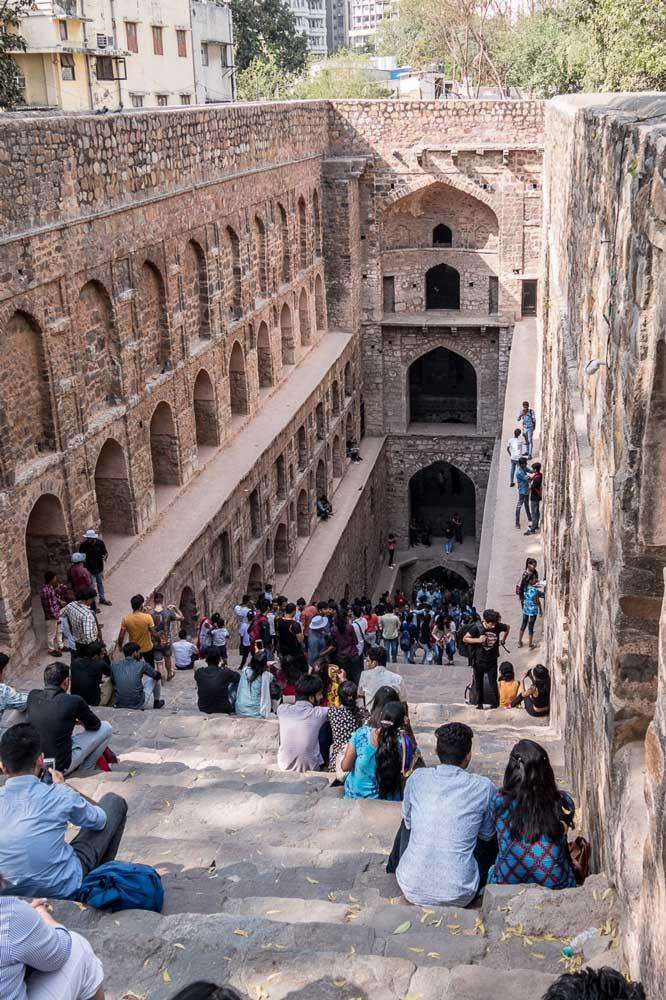 Travelbay India Tours - Customer Reviews - Simon & Gina in India - Delhi, Agrasen Ki Baoli