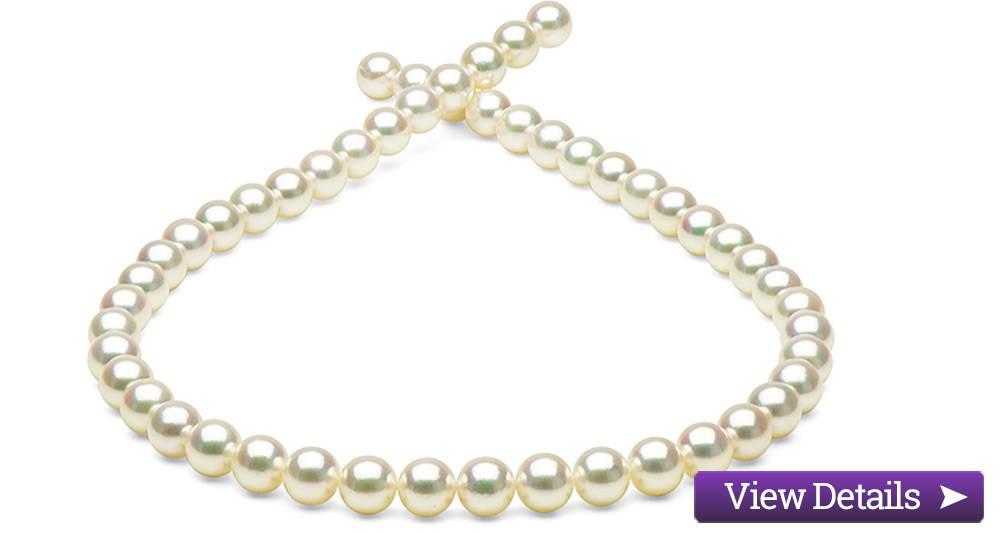 Akoya Pearl Jewelry Styles: Hanadama Akoya Pearl Necklaces
