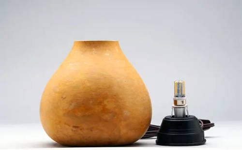 Individual Gourd Lamp Kit: Includes Pre-Cut 5-6.9