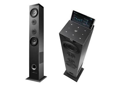 ENERGY SISTEM Torre de Sonido T5 Bluetooth Negra