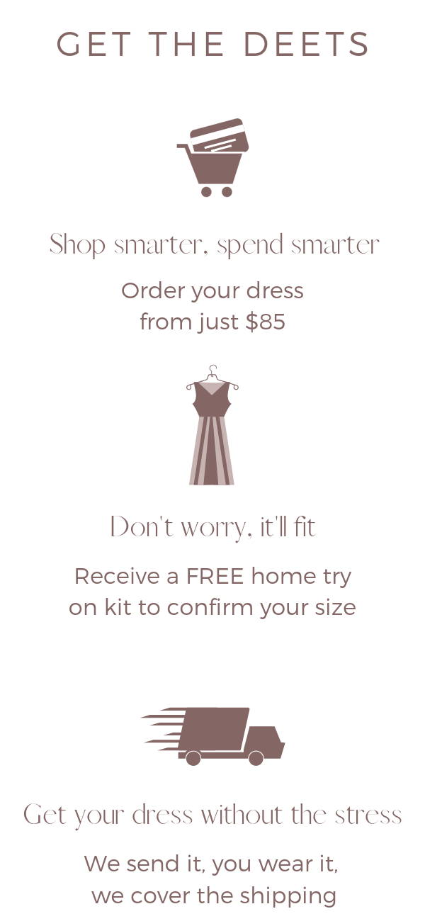 how to rent bridesmaid dresses canada