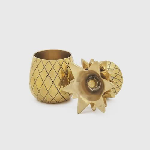 W&P Design Pineapple Shot Glasses