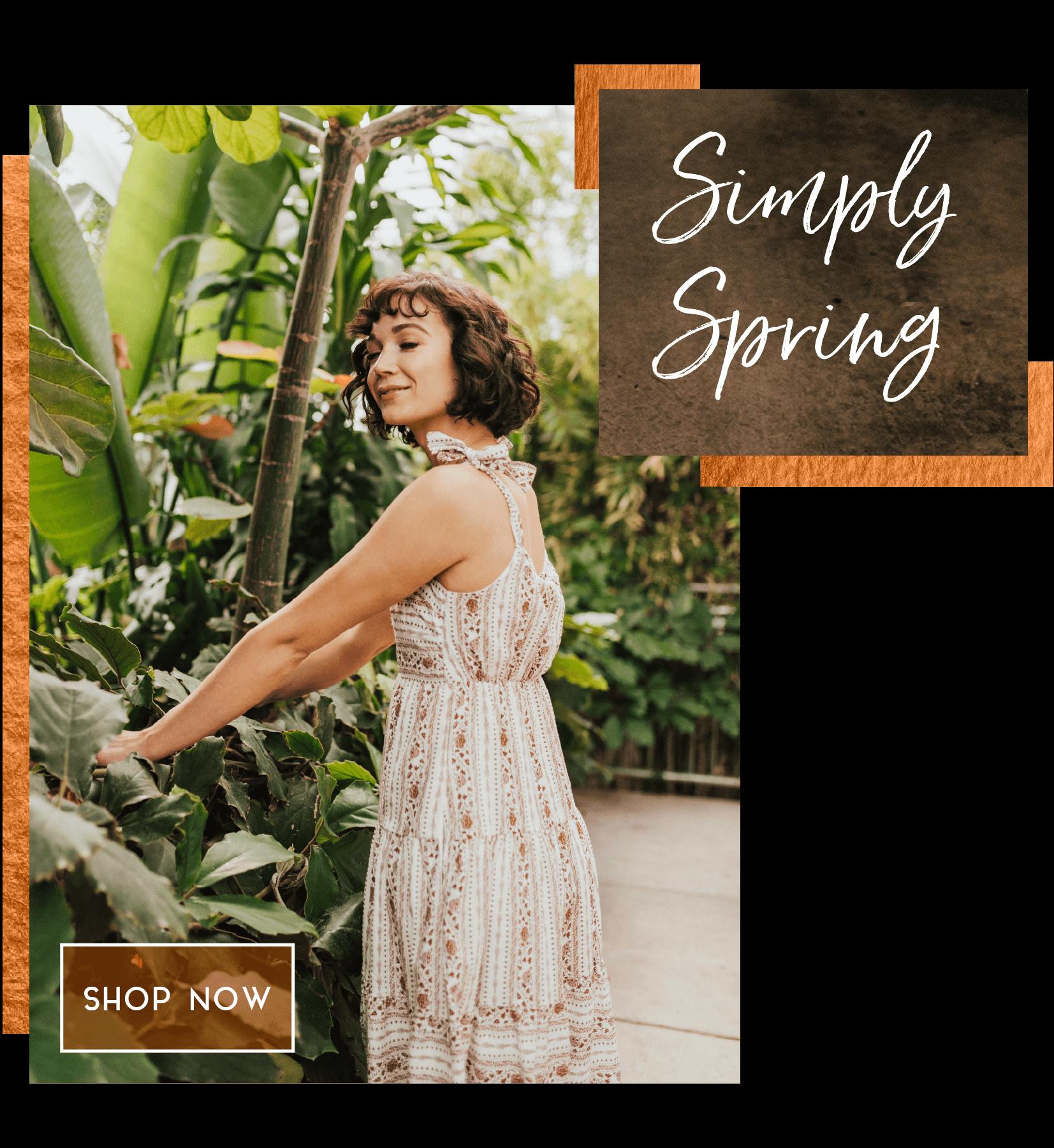boutique, online boutiques, floral print, spring dresses
