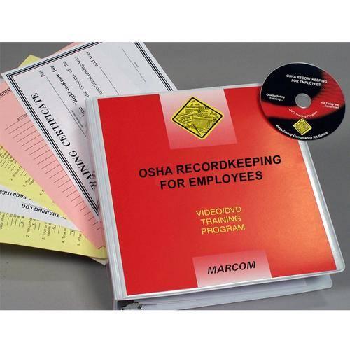 OSHA Recordkeeping For Employees DVD